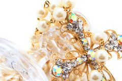 Het kruis van Jewelery Royalty-vrije Stock Fotografie