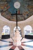 Het Kruis van Magellan in de Stad van Cebu Stock Foto