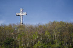 Het Kruis van Montreal Stock Afbeeldingen