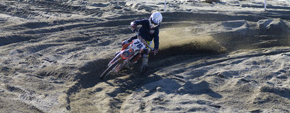 Het kruis van Moto Stock Fotografie