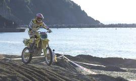 Het kruis van Moto Royalty-vrije Stock Foto's