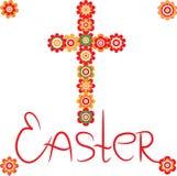 Het kruis van Pasen Stock Foto