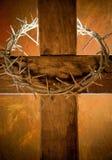 Het kruis van Pasen Stock Afbeeldingen