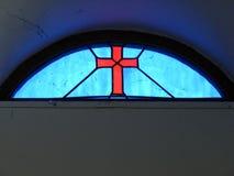 Het kruisbeeld van het glas royalty-vrije stock afbeelding