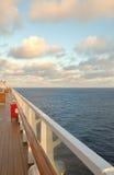 Het kruisen op de Vreedzame Oceaan Stock Foto's