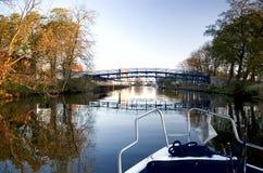 Het kruisen van de rivier. Royalty-vrije Stock Foto