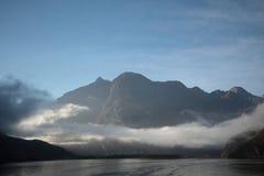 Het kruisen in Zuid-Nieuw Zeeland stock afbeeldingen