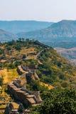 Het Kumbhalgarh-Fort, Udaipur, Rajasthan stock afbeelding