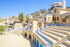 Het Kunstenaarskwart, Safed royalty-vrije stock afbeelding