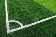 Het kunstmatige Gebied van het Voetbal royalty-vrije stock afbeelding