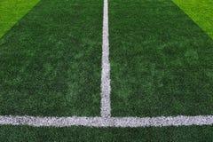 Het kunstmatige Gebied van het Voetbal stock afbeelding