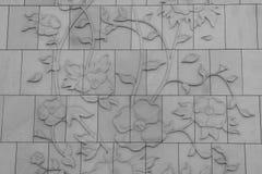 Het kunstwerk in Grote moskee in Abu Dhabi Royalty-vrije Stock Fotografie