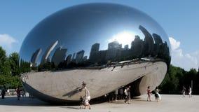 Het Kunstwerk van Chicago - de Boon - Tijdtijdspanne stock footage