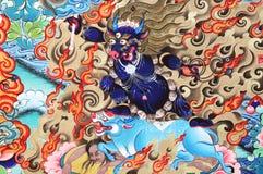 Het kunstwerk van de godsdienst over boeddhisme royalty-vrije stock fotografie