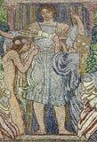 Het kunstwerk van het mozaïek Stock Foto's