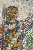 Het kunstwerk van het mozaïek Stock Fotografie