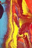 Het Kunstwerk van Marbleized stock foto's