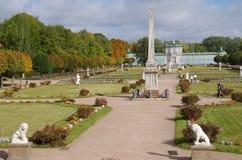 Het Kuskovo-landgoed in Moskou, Rusland Royalty-vrije Stock Afbeelding