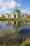 Het Kuskovo-landgoed in Moskou, Rusland Stock Fotografie