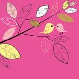 Het kussen vogels Vector Illustratie