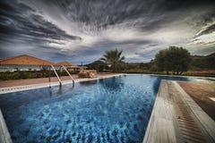 Het kuuroord Hotell van La Marquise Luxurious in Griekenland Stock Foto