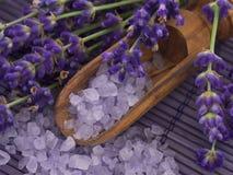 Het kuuroord van de lavendel het plaatsen Stock Foto