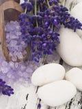 Het kuuroord van de lavendel het plaatsen Stock Fotografie