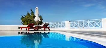 Het Kuuroordontspanning van het kopbal Zwembad Royalty-vrije Stock Afbeelding