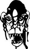 Het kwade Monster van de Lijkenetende geest Royalty-vrije Stock Fotografie