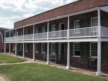 Ambtenaren kwart-Fort McHenry Stock Afbeelding