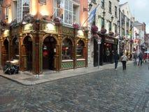 Het kwart van de tempelbar in Dublin royalty-vrije stock foto's
