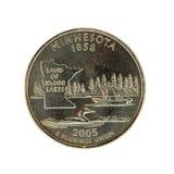 Het Kwart van Minnesota royalty-vrije stock foto