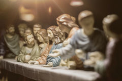 Het Laatste Avondmaal is één van de beroemdste scènes Royalty-vrije Stock Foto's