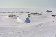 Het laatste weekend van Maart op de Golf van Finland Stock Foto