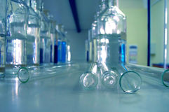 Het laboratorium van de chemie Royalty-vrije Stock Foto