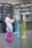Het Laboratorium van de chemie Royalty-vrije Stock Foto's
