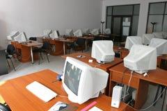 Het laboratorium van de computer Royalty-vrije Stock Afbeeldingen
