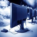 Het Laboratorium van de computer Royalty-vrije Stock Afbeelding