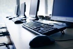 Het Laboratorium van de computer Stock Foto's