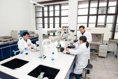 Het Laboratorium van de fysica stock fotografie