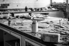 Het laboratorium van het legeronderzoek Royalty-vrije Stock Foto's