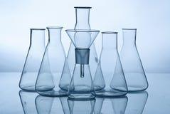 Het laboratoriumapparatuur van het glas Royalty-vrije Stock Afbeelding