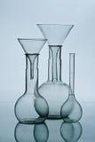 Het laboratoriumapparatuur van het glas Royalty-vrije Stock Foto
