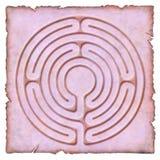 In het Labyrint - kring 6 Royalty-vrije Stock Afbeeldingen