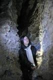 Het labyrint Mlynky_8 van het gipshol Royalty-vrije Stock Foto