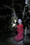 Het labyrint Mlynky_7 van het gipshol Stock Fotografie