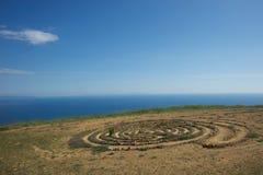 Het Labyrint van de Canion van de tonijn Stock Afbeeldingen