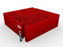 Het labyrint van de carrière Royalty-vrije Stock Afbeeldingen
