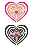 Het labyrint van de liefde Stock Afbeeldingen