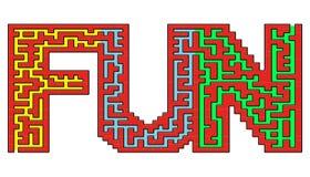 Het labyrint van de pret vector illustratie